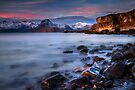 Elgol Sunset, Loch Scavaig, The Isle of Skye., Western Isles, Scotland. by photosecosse /barbara jones