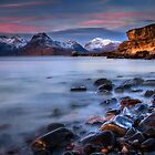 Elgol Sunset, Loch Scavaig, The Isle of Skye., Western Isles, Scotland. by PhotosEcosse