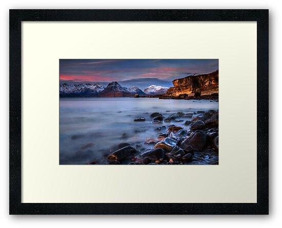 Elgol Sunset, Loch Scavaig, The Isle of Skye., Western Isles, Scotland. by photosecosse /barbara jones