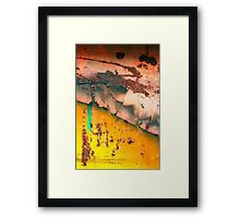 Crazy English Summer Framed Print