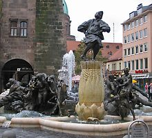 Ehekarusell Brunnen by Elena Skvortsova