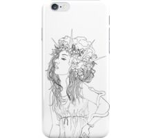 Hecate (White) iPhone Case/Skin