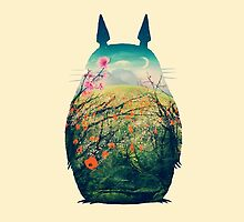 Chill Totoro by KanzakiShop
