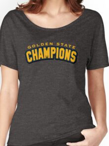 Golden State Champions Women's Relaxed Fit T-Shirt