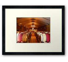 Waterford Winery Framed Print
