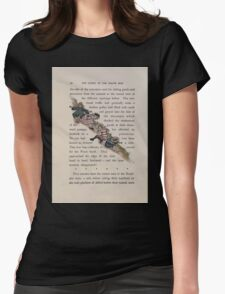 The Queen of Pirate Isle Bret Harte, Edmund Evans, Kate Greenaway 1886 0034 The Hillside Slide Womens Fitted T-Shirt