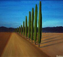 Cypress Road - Perspective study by Kostas Koutsoukanidis