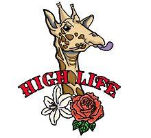 High Life Giraffe by Maurice Hill