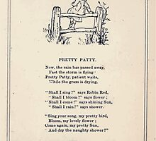 Miniature Under the Window Pictures & Rhymes for Children Kate Greenaway 1880 0039 Pretty Patty by wetdryvac