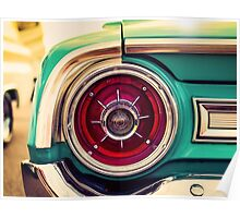 1964 Ford Galaxie 500 XL Tail Light Poster