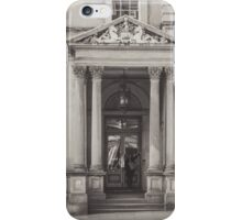 Someone at the door iPhone Case/Skin