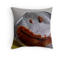 A Reminder to Smile Throw Pillow