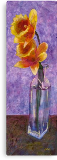 Daffodils by Angela Micheli Otwell