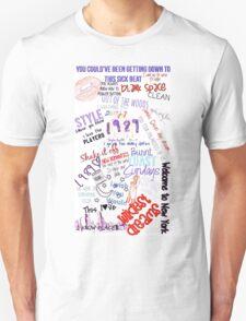 Taylor Swift 1989 Color Edit T-Shirt