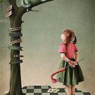 Croquet and  Cat by Larissa Kulik