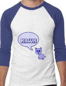 Rawr Kitty  Men's Baseball ¾ T-Shirt