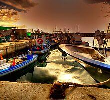 Fuengirola Harbour2 by Kelvin Hughes
