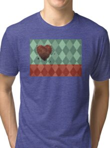 For The Love Of Argyle Tri-blend T-Shirt