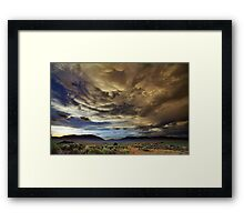 Post tstorm Framed Print