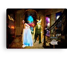 Alice's Surprise Canvas Print
