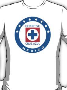 Cruz Azul Logo T-Shirt T-Shirt