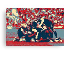 Olympic Victory Canvas Print