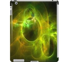 Orange and Lime Circles 1 iPad Case/Skin