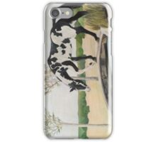 Paint Horse on a Bridge iPhone Case/Skin