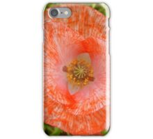 The Peach Papaver iPhone Case/Skin