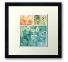 Collection ~ Flowers Framed Print