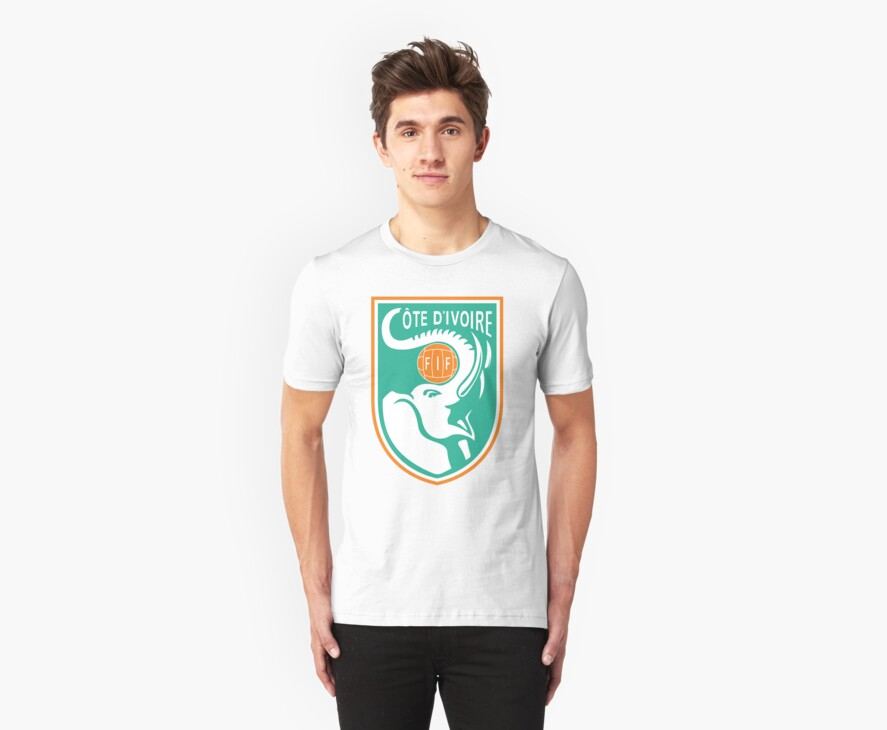 Ivory Coast World Cup T-Shirt by onenil