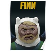 Adventure Time FINN Poster