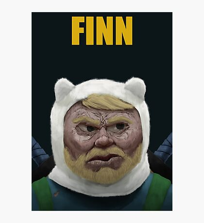 Adventure Time FINN Photographic Print