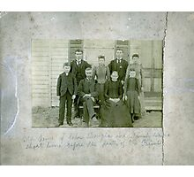 John Douglas & Family Photographic Print