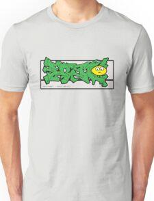 abstract graff - green remix Unisex T-Shirt