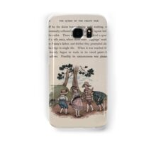 The Queen of Pirate Isle Bret Harte, Edmund Evans, Kate Greenaway 1886 0030 In the Mud Samsung Galaxy Case/Skin