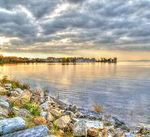 Sunset on the Ottawa River HDR by Vicki Spindler (VHS Photography)