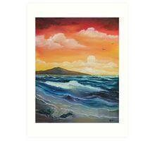 'Calm before the Storm' Art Print