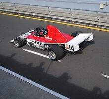 Formula 5000 leaving the pits by Stuart Row