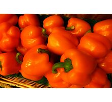 Peppers Plump and Pretty Photographic Print