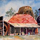BARNS OF CHETOPA III by Bill Meeker