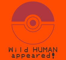 Wild HUMAN appeared! Kids Clothes