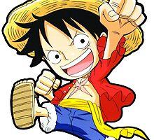 Chibi Luffy - One Piece by KanzakiShop