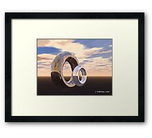 Forever and Always Framed Print