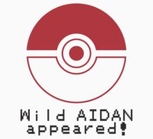 Wild AIDAN appeared! Kids Clothes