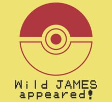 Wild JAMES appeared! Kids Clothes