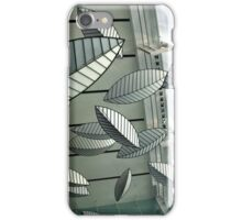 Abstract Leaves iPhone Case/Skin