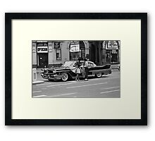 Classic American car, 1976 Framed Print