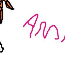 Amanda #8 Sticker