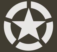 Allied Star (White) by DarkHorseDesign